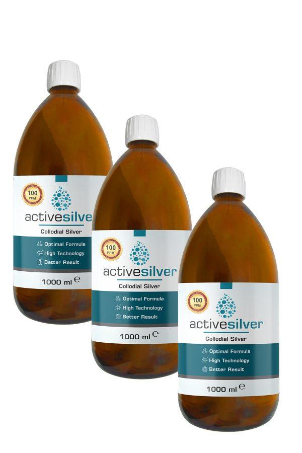 Active Silver® Prokolloidal Gümüş Suyu 100ppm Avantaj Paketi