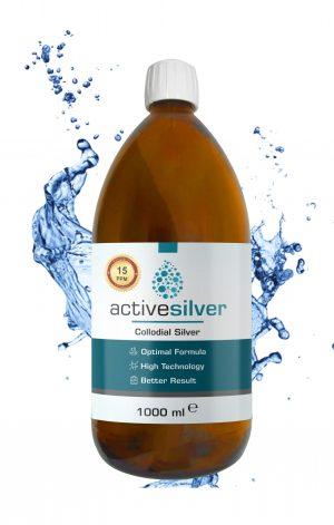 Active Silver® Kolloidal Gümüş Suyu 15ppm