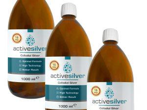 Active Silver® Kolloidal Gümüş Suyu 15ppm AVANTAJLI PAKET