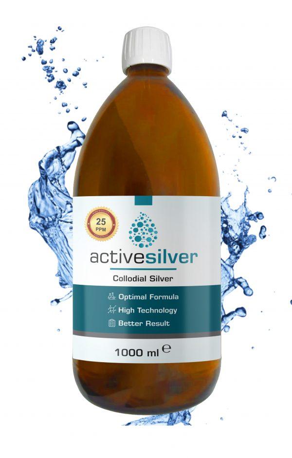 Active Silver® Kolloidal Gümüş Suyu 25ppm AVANTAJLI PAKET