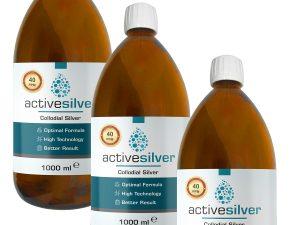 Active Silver® Kolloidal Gümüş Suyu 40ppm AVANTAJLI PAKET