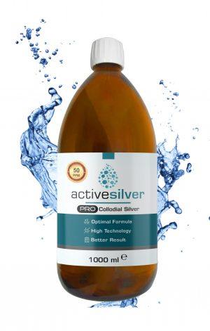 Active Silver® Prokolloidal Gümüş Suyu 50ppm
