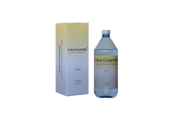 Active Essentials® Kolloidal Çinko Suyu 100ppm