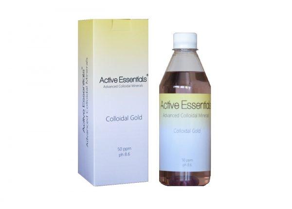Active Essentials® Kolloidal Altın Suyu 50ppm