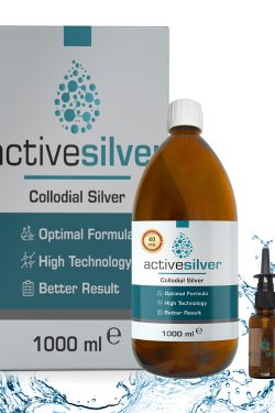 Active Silver® Kolloidal Gümüş Suyu 40ppm