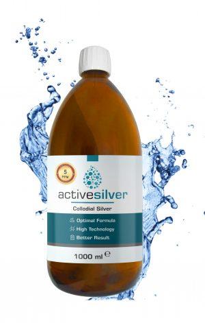 Active Silver® Kolloidal Gümüş Suyu 5ppm AVANTAJLI FİYAT