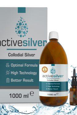 Active Silver® Kolloidal Gümüş Suyu 5ppm