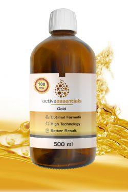 Active Essentials® Kolloidal Altın Suyu 100ppm