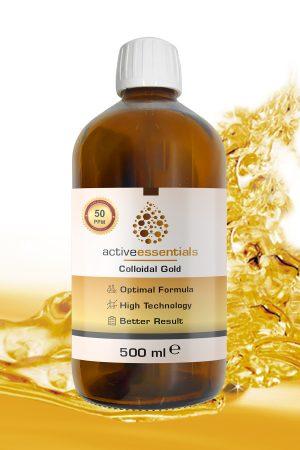 Active Essentials® Kolloidal Altın Suyu 50ppm Avantaj Paketi