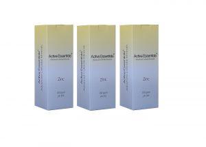 Active Essentials® Kolloidal Çinko Suyu 100ppm  Avantaj Paketi