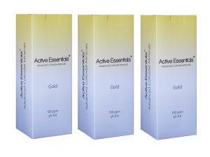 Active Essentials® Prokolloidal Altın Suyu 100ppm Avantaj Paketi