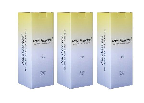 Active Essentials® Prokolloidal Altın Suyu 50ppm Avantaj Paketi