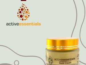 Active Essentials® Gold Krem – Yaşlanma Karşıtı Krem